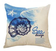 Mediterranean Style Decorative Pillow Covers 45*45CM
