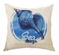 Conch Style Decorative Pillow Covers 45*45CM