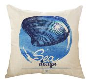 Blue Ocean Decorative Pillow Covers 45*45CM