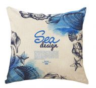 Blue Sea Decorative Pillow Covers 45*45CM