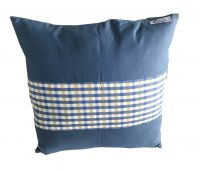 Hom Decorative Soft Pillow Cover Cotton Pillowcase 45*45CM(Blue)