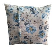 Hom Decorative Soft Pillow Cover Cotton Pillowcase 45*45CM(Flower)