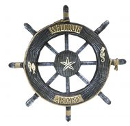 Wall Decorative Hanging Ornaments Retro Rudder