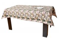 Home Decoration Cotton Table Cover Tablecloth Table Mat 43.3