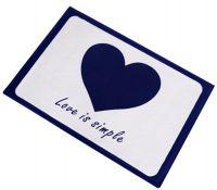 Love Non-slip Bedroom Doormat Foot Pad 40*60CM