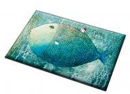 Fish Style Non-slip Bedroom Doormat Foot Pad 40*60CM