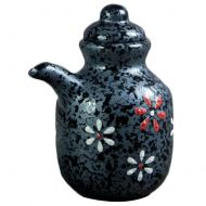 Sushi Soy Sauce Dispenser Ceramics Liquid Cruet Japanese Restaurant Supplies (A9)