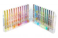 Creative Erasable Rotating Crayons Oil Painting Sticks 24 colors