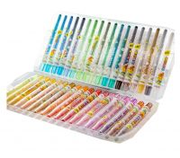 Creative Erasable Rotating Crayons Oil Painting Sticks 36 colors