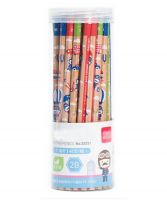 Safe Non-toxic Writing Pencils Wood-Cased 2B Pencils 48 Pieces