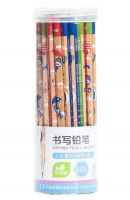 Non-toxic Writing Pencils Wood-Cased HB Six Bar Pencils 48 Pieces