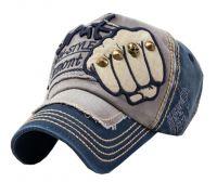 Adjustable Unisex Cool Baseball Cap Summer Hat Cotton Free Size(Ligtht Blue)