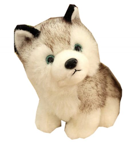 [Husky]Children Birthday Gift Plush Toys Cute Doll Plush Puppets 30CM