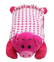 Red Pig Baby Kids Children Plush Toys Plush Pillows 19.68*9.87 Inches
