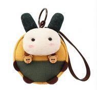 [Rabbit]Small Pocket Purse Animal Case Zipper Pouch Wallet Bag 3.94