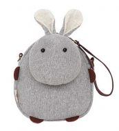 [Grey Rabbit]Cross Body Shoulder Bags Wallet Bag Handbag Purse 6.88